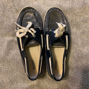 Sequence Navy Blue Loafers